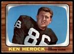 1966 Topps #112  Ken Herock  Front Thumbnail