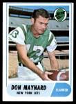 1968 Topps #169  Don Maynard  Front Thumbnail