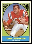 1967 Topps #5   Tommy Addison  Front Thumbnail