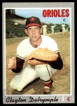 1970 Topps #319  Clay Dalrymple  Front Thumbnail