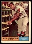 1961 Topps #296  Wes Covington  Front Thumbnail