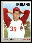 1970 Topps #582  Mike Paul  Front Thumbnail