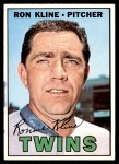 1967 Topps #133  Ron Kline  Front Thumbnail