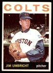 1964 Topps #389  Jim Umbricht  Front Thumbnail