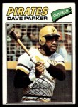 1977 Topps #270  Dave Parker  Front Thumbnail