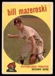 1959 Topps #415  Bill Mazeroski  Front Thumbnail