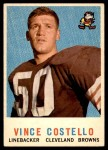 1959 Topps #158  Vince Costello  Front Thumbnail