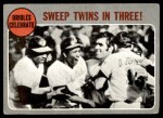 1970 Topps #202   -  Frank Robinson / Paul Blair / Andy Etchebarren / Davey Johnson 1969 AL Playoff - Summary - Orioles Celebrate Front Thumbnail