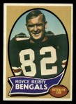 1970 Topps #86  Royce Berry  Front Thumbnail