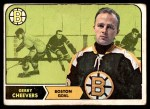 1968 Topps #1  Gerry Cheevers  Front Thumbnail