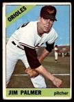 1966 Topps #126  Jim Palmer  Front Thumbnail