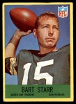 1967 Philadelphia #82  Bart Starr  Front Thumbnail
