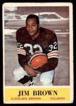 1964 Philadelphia #30  Jim Brown   Front Thumbnail