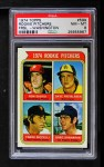 1974 Topps #599 WAS  -  Dave Freisleben / Ron Diorio / Frank Riccelli / Greg Shanahan Rookie Pitchers   Front Thumbnail