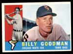1960 Topps #69  Billy Goodman  Front Thumbnail