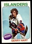 1975 Topps #18  Gerry Hart   Front Thumbnail