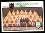 1975 Topps #86   Kings Team Checklist Front Thumbnail