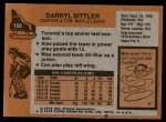 1975 Topps #150  Darryl Sittler   Back Thumbnail
