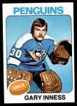 1975 Topps #227  Gary Inness   Front Thumbnail