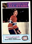 1975 Topps #290   -  Guy Lafleur  First Team All-Stars Front Thumbnail