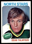 1975 Topps #197  Dean Talafous   Front Thumbnail