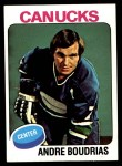 1975 Topps #60  Andre Boudrias   Front Thumbnail