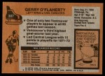 1975 Topps #307  Gerry O'Flaherty   Back Thumbnail