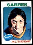 1975 Topps #216  Jocelyn Guevremont   Front Thumbnail