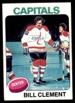 1975 Topps #189  Bill Clement   Front Thumbnail