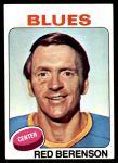 1975 Topps #22  Red Berenson   Front Thumbnail