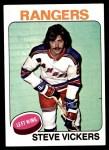 1975 Topps #19  Steve Vickers   Front Thumbnail