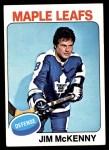 1975 Topps #311  Jim McKenny   Front Thumbnail