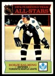 1975 Topps #294   -  Borje Salming  Second Team All-Stars Front Thumbnail