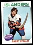 1975 Topps #54  Garry Howatt   Front Thumbnail