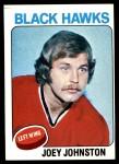 1975 Topps #193  Joey Johnston   Front Thumbnail