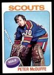 1975 Topps #256  Peter McDuffe   Front Thumbnail