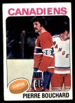 1975 Topps #304  Pierre Bouchard   Front Thumbnail