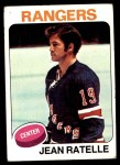 1975 Topps #243  Jean Ratelle   Front Thumbnail