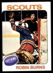 1975 Topps #104  Robin Burns   Front Thumbnail