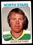 1975 Topps #222  Glen Sather   Front Thumbnail