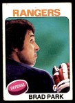 1975 Topps #260  Brad Park   Front Thumbnail