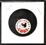 1961 Cranes Potato Chip Pin #3   Chicago Cubs Front Thumbnail