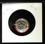 1961 Cranes Potato Chip Pin #1   Baltimore Orioles Back Thumbnail
