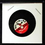 1961 Cranes Potato Chip Pin #1   Baltimore Orioles Front Thumbnail