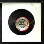 1961 Cranes Potato Chip Pin #17   San Francisco Giants Back Thumbnail