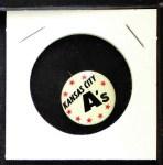 1961 Cranes Potato Chip Pin #9   Kansas City A's Front Thumbnail