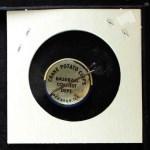 1968 Cranes Potato Chip Pin #6   Cleveland Indians Back Thumbnail