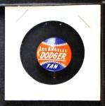 1968 Cranes Potato Chip Pin #11   Los Angeles Dodgers Front Thumbnail