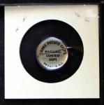 1968 Cranes Potato Chip Pin #2   Boston Red Sox Back Thumbnail
