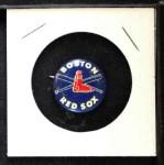 1968 Cranes Potato Chip Pin #2   Boston Red Sox Front Thumbnail